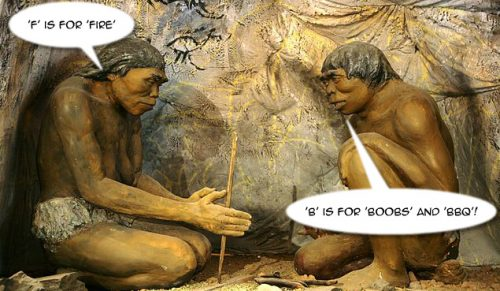 man cave man
